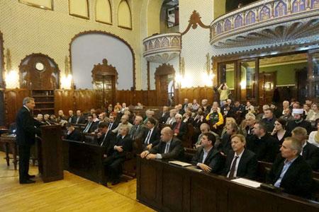 Konferencija 70 godina holokausta u Subotici 12.04.2014.