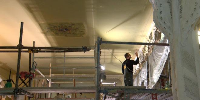 U Sinagogi su u toku radovi na oslikavanju zidova, završetak svih radova do kraja godine