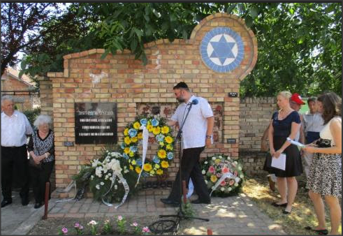 Komemoracija povodom godišnjice deportacije bačkotopolskih Jevreja
