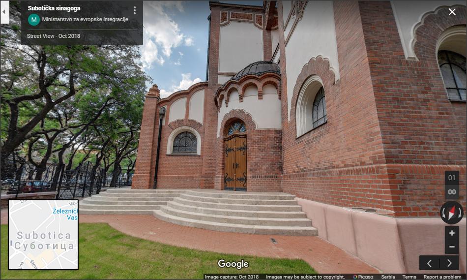 Sinagoga u 360 stepeni